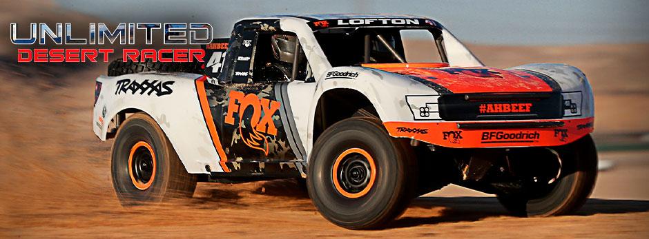Traxxas Unlimited Desert Racer!