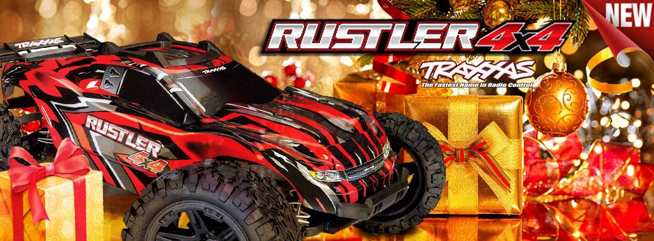 Принципиально новый Rustler 4x4!