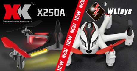 WLToys и XK Innovations: крупнейшая поставка этого лета! Новинки в продаже!