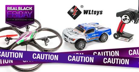 Спешите! Сенсационные скидки на модели WLToys!