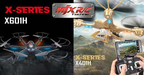 Поставка дронов и вертолётов MJX – новинки в продаже!