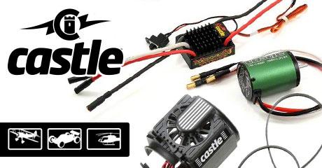 Пополнение ассортимента электроники Castle Creations!