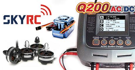 Зарядные устройства и аксессуары SkyRC в продаже!