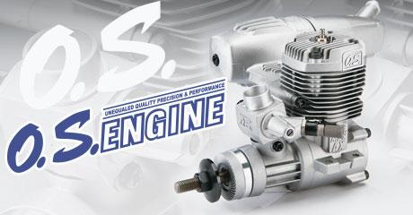 Поступление двигателей и запчастей O.S. Engines!