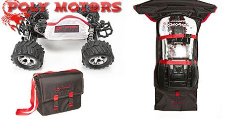 Поступление сумок, рюкзаков и чехлов для моделей от Polymotors!