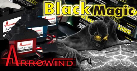 Поступление аккумуляторов Black Magic и электроники Arrowind!