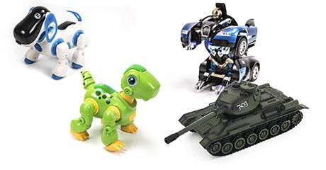Игрушки для мальчиков и девочек