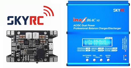 Поступление зарядных устройств и электроники от SkyRC!