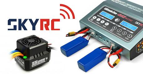 Поступление зарядных устройств и электроники SkyRC!