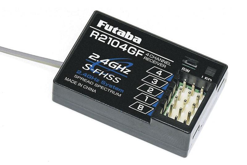 new futaba r2104gf 4 channel 2 4ghz s fhss receiver 4pl r2104gf Приемник Futaba R2104GF S-FHSS