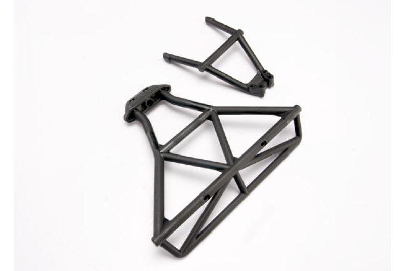 Запчасти для радиоуправляемых моделей Traxxas TRAXXAS Bumper, rear: bumper mount, rear (black)