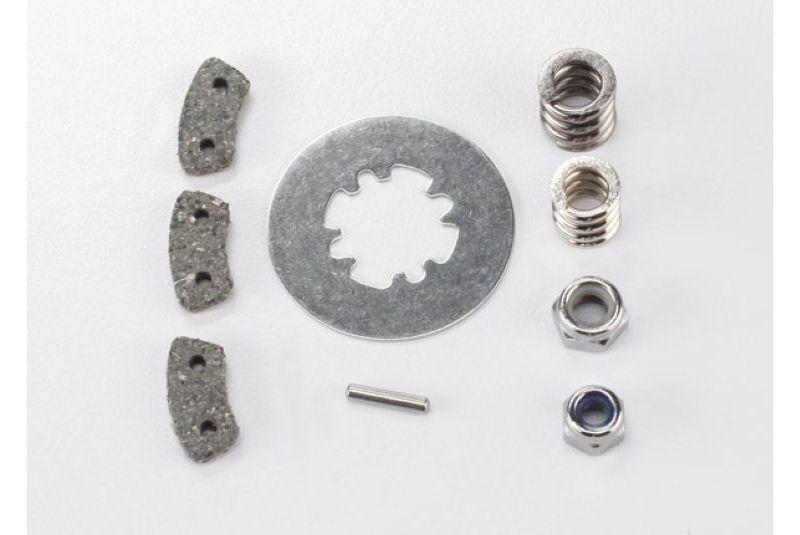 Запчасти для радиоуправляемых моделей Traxxas TRAXXAS Rebuild kit, slipper clutch (steel disc: friction pads (3): spring (2): pin: 4.0mm NL (1): 5.0mm