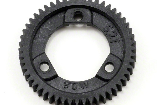 Запчасти для радиоуправляемых моделей Traxxas TRAXXAS Spur gear, 52-tooth (0.8 metric pitch, compatible with 32-pitch) (for center differential)