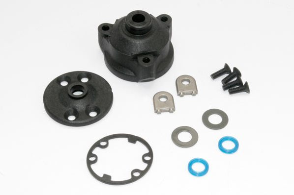 Запчасти для радиоуправляемых моделей Traxxas TRAXXAS Housing, center differential: x-ring gaskets (2): ring gear gasket: bushings 5x10x0.5 TW C