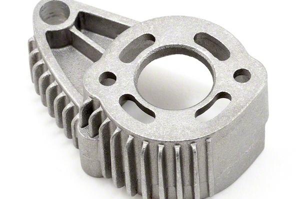 Запчасти для радиоуправляемых моделей Traxxas TRAXXAS Motor mount, finned aluminum (for 550 motors) запчасти для радиоуправляемых моделей traxxas traxxas x maxx motor mount washer blue 4