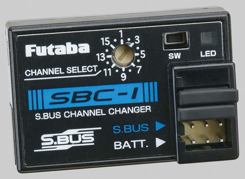 Программатор Futaba S.BUS Channel Changer SBC-1