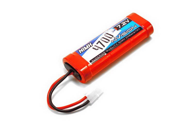 Аккумулятор nVision 7.2V 4700mAh NiMH Tamiya plug