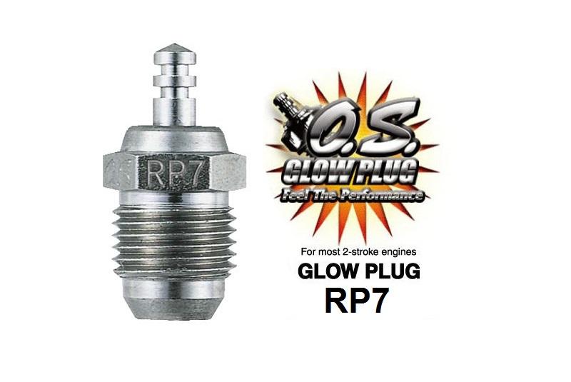 Фото - Свеча зажигания O.S. Engines OS MAX RP7 холодная свеча зажигания o s engines t rp7
