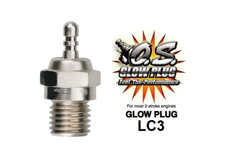 Свеча зажигания O.S. Engines GLOW PLUG LC3 (LONG REACH) HOT