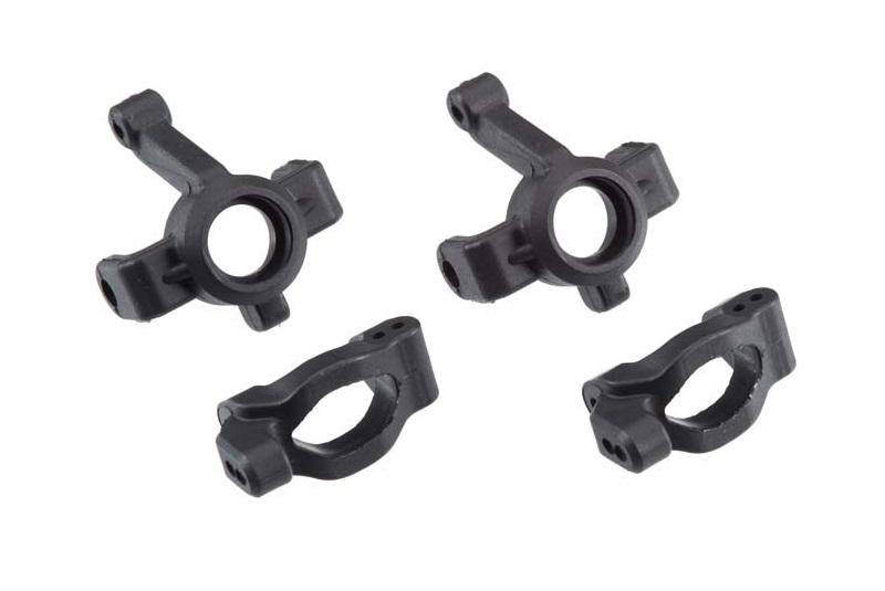 Запчасти для радиоуправляемых моделей Traxxas TRAXXAS Caster blocks (c-hubs) (2): steering block (2)