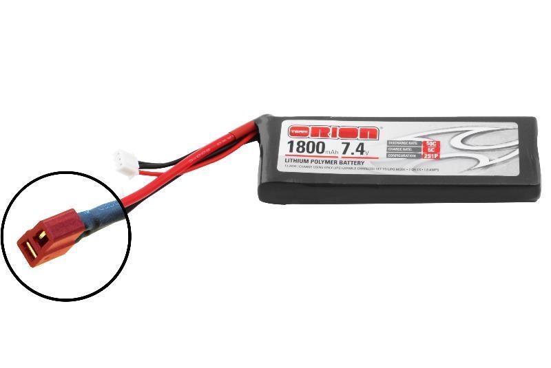 Аккумулятор Team Orion Batteries 7.4V 1800mAh 50C LiPo Deans plug аккумулятор team orion batteries 11 1v 2200mah 50c lipo xt60 plug led status