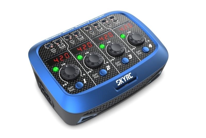 Зарядно-разрядное устройство SkyRC Quattro Micro Battery AC:DC