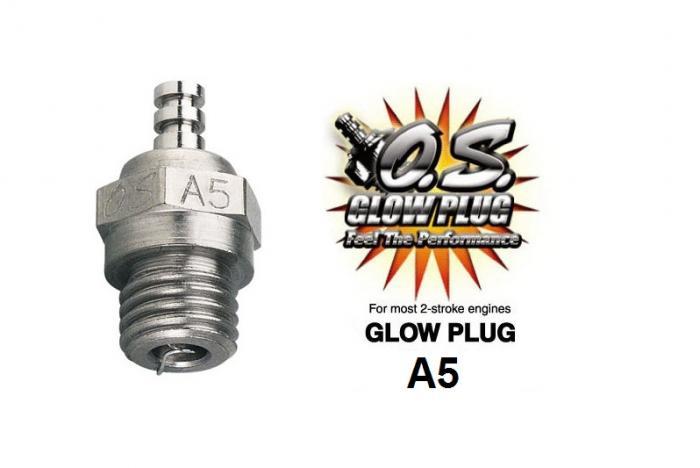 Свеча зажигания O.S. Engines OS MAX A5 холодная