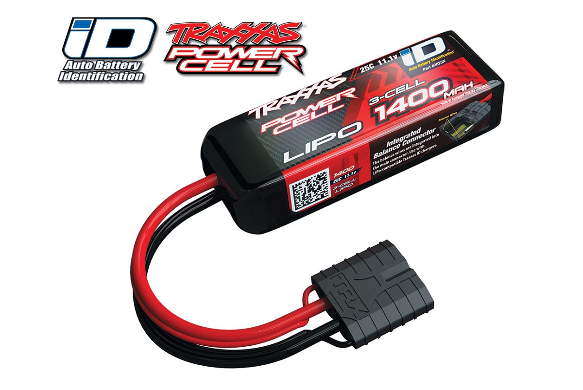 Аккумулятор TRAXXAS Battery 11.1V 1400mAh 25C LiPo TRX iD plug