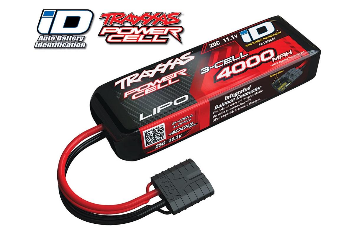 Аккумулятор TRAXXAS Battery 11.1V 4000mAh 25C LiPo TRX iD plug