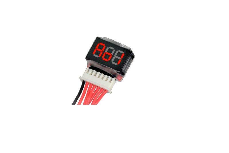 Индикатор напряжения IMAXRC 1-6S LiPo battery voltage Indicator