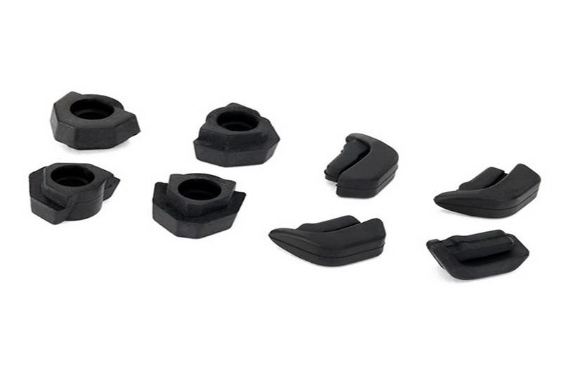 Фото - Запчасти для радиоуправляемых моделей Traxxas TRAXXAS Feet, non-skid, LED lens (4): landing gear (4) запчасти для радиоуправляемых моделей rpm alias landing gear black