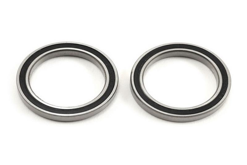 Подшипники для радиоуправляемых моделей TRAXXAS Ball bearing, black rubber sealed (20x27x4mm) (2)