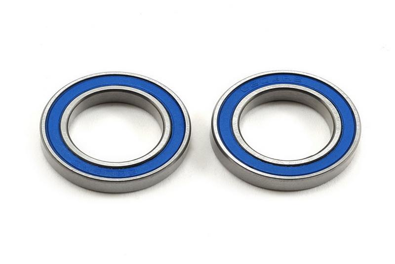 Подшипники для радиоуправляемых моделей TRAXXAS Ball bearing, blue rubber sealed (15x24x5mm) (2)