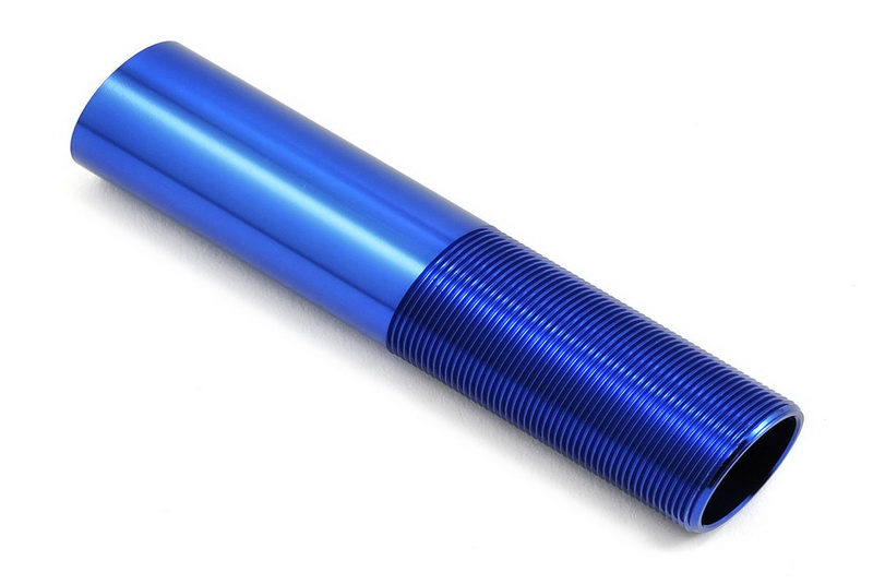 Запчасти для радиоуправляемых моделей Traxxas TRAXXAS Body, GTX shock (aluminum, blue-anodized) (1) запчасти для радиоуправляемых моделей traxxas traxxas x maxx motor mount washer blue 4
