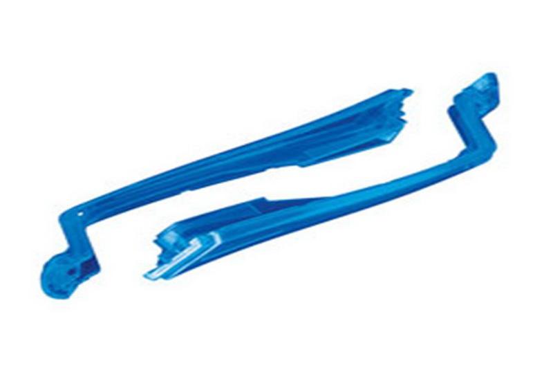 Запчасти для радиоуправляемых моделей Traxxas TRAXXAS LED lens, front, blue (left & right)