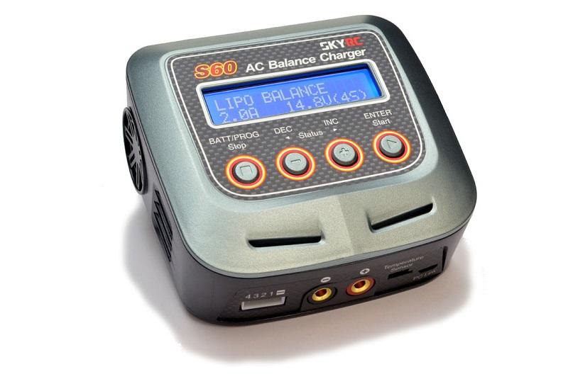 Зарядно-разрядное устройство SkyRC S60 AC