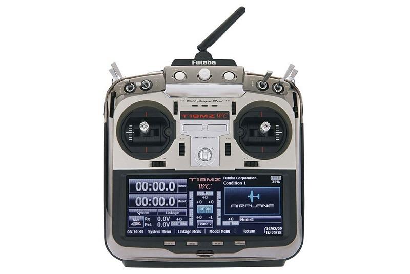 Аппаратура радиоуправления Futaba 18MZ WC 18-Ch Air FASST, FASSTest, S-FHSS, T-FHSS