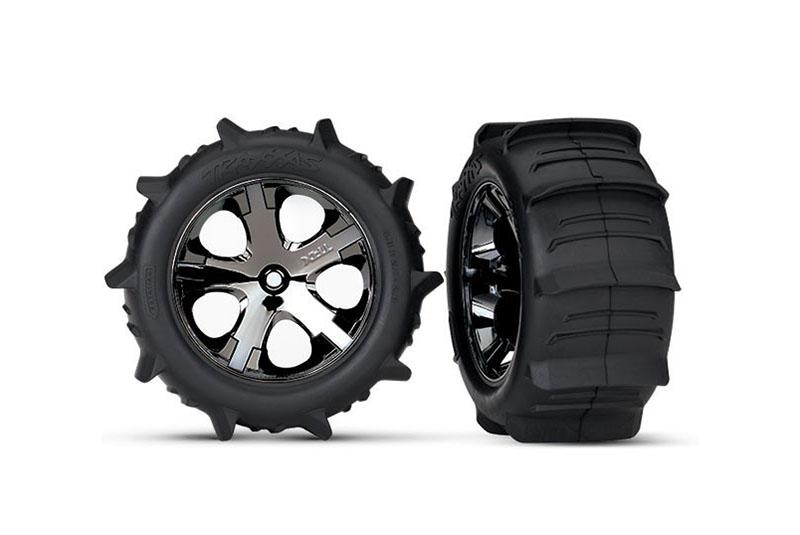 Колеса в сборе TRAXXAS Paddle Tires 2.8