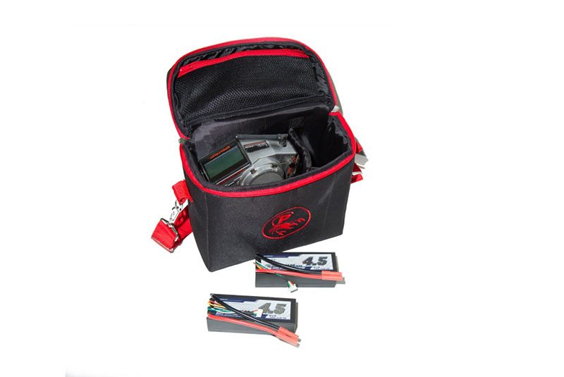 Чехлы и сумки для радиоуправляемых машин Polymotors Чехол для авто:авиа модельной аппаратуры и аккумуляторов.
