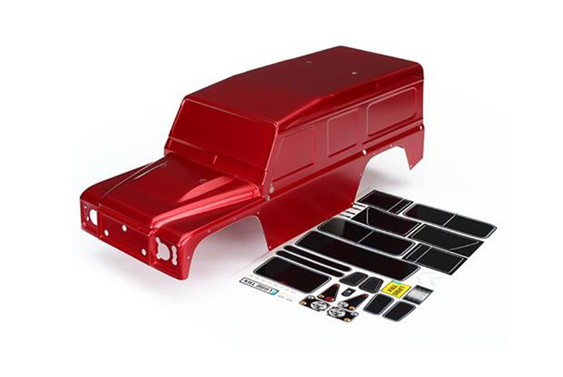 Кузов TRAXXAS TRX-4 Land Rover Defender (red)