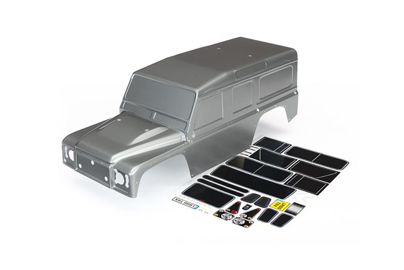 Кузов TRAXXAS TRX-4 Land Rover Defender (gray)