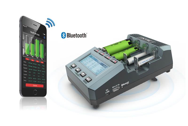 Зарядно-разрядное устройство SkyRC MC3000 with Bluetooth