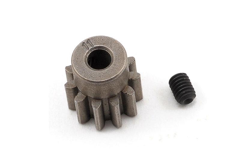 Запчасти для радиоуправляемых моделей Traxxas TRAXXAS Gear, 11-T pinion (32-p) (mach. steel): set screw