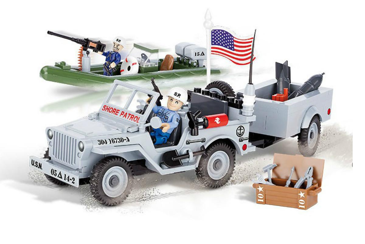 Конструктор COBI Джип Jeep Willys MB Navy