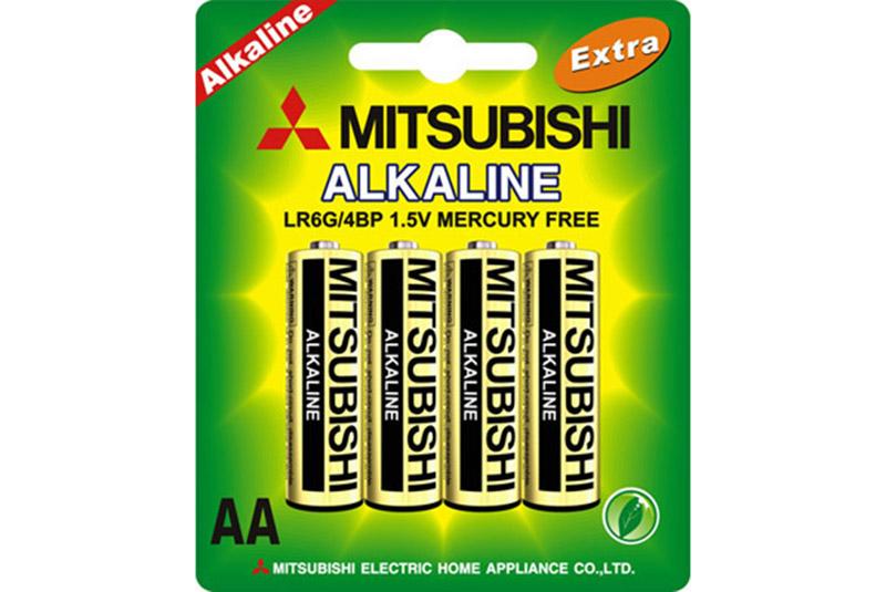 Элемент питания Mitsubishi AA (LR6G) 4 шт