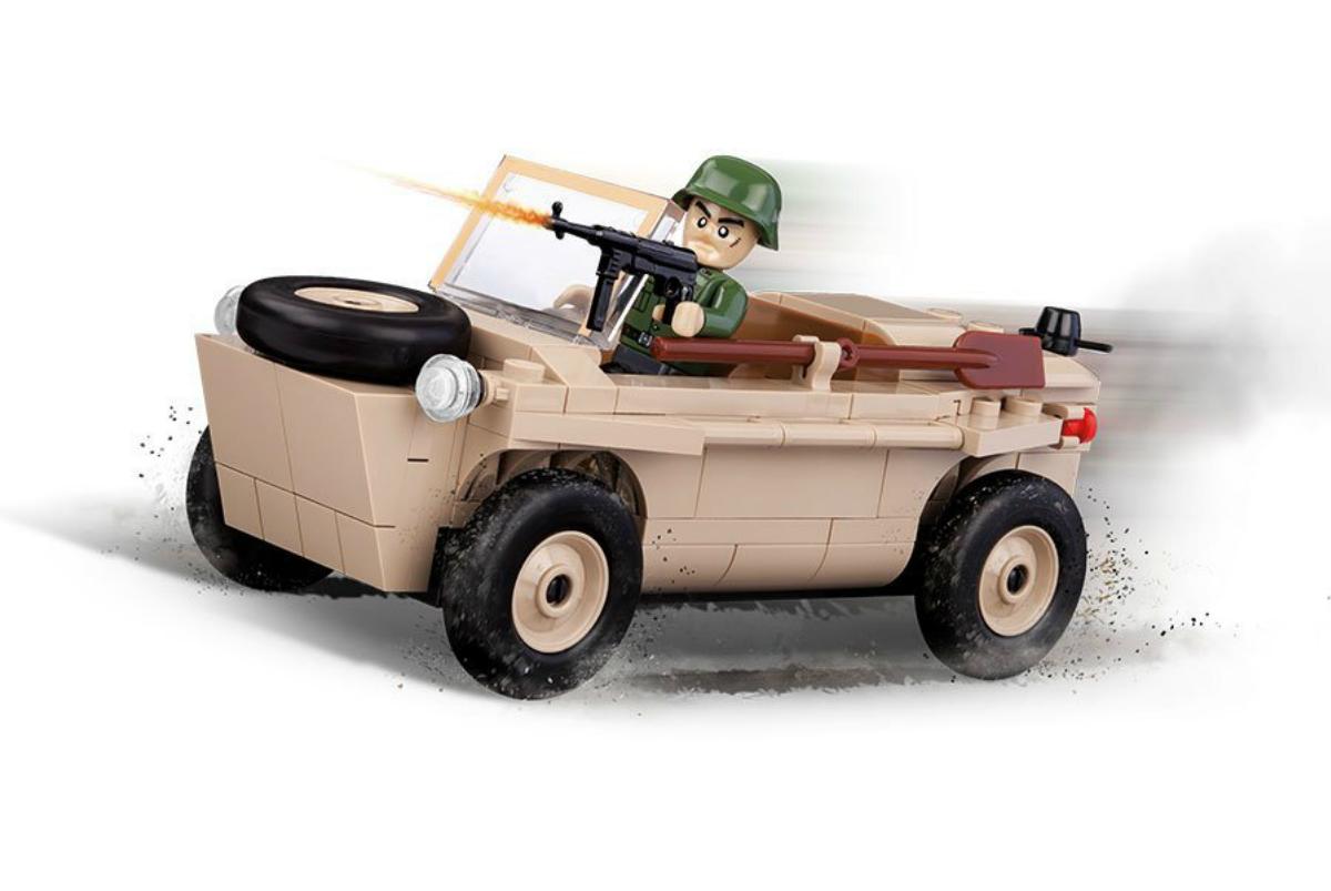 Фото - Конструктор COBI Амфибия VW Typ 166 Schwimmwagen конструктор cobi small army world war ii 2188 амфибия vw typ 166 schwimmwagen