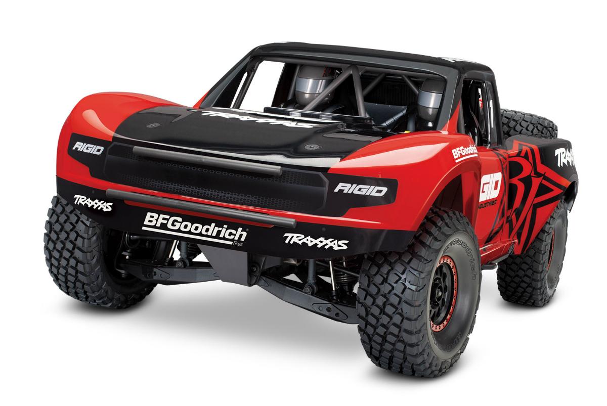 Unlimited Desert Racer Красный