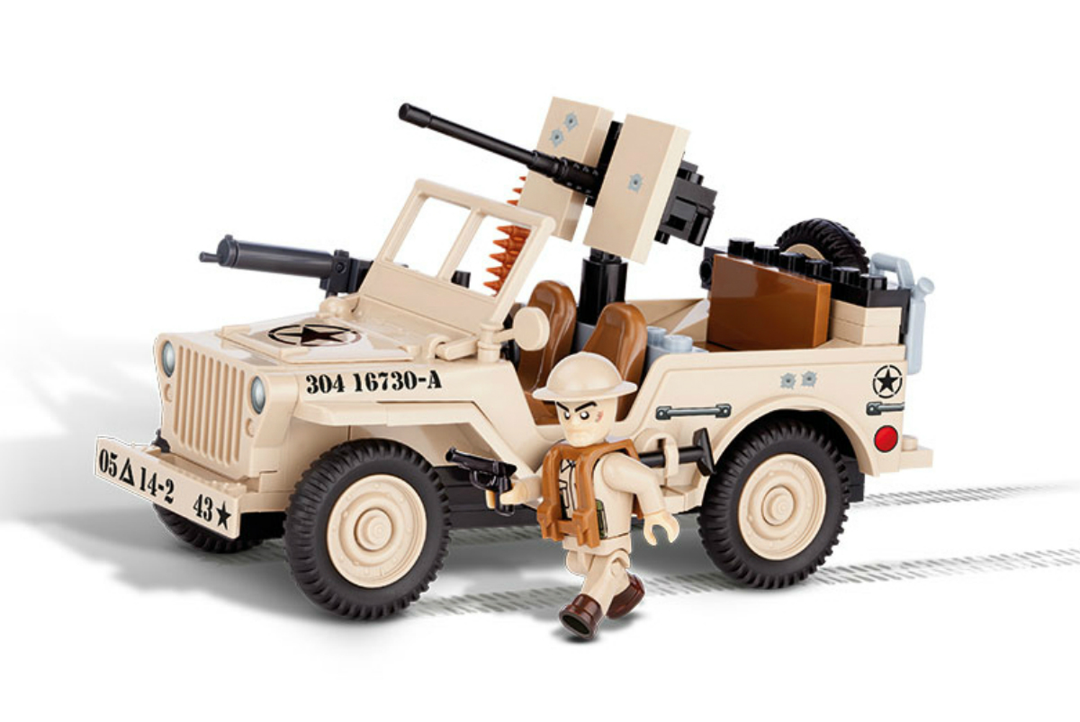 Конструктор COBI Джип Jeep Willys 1943