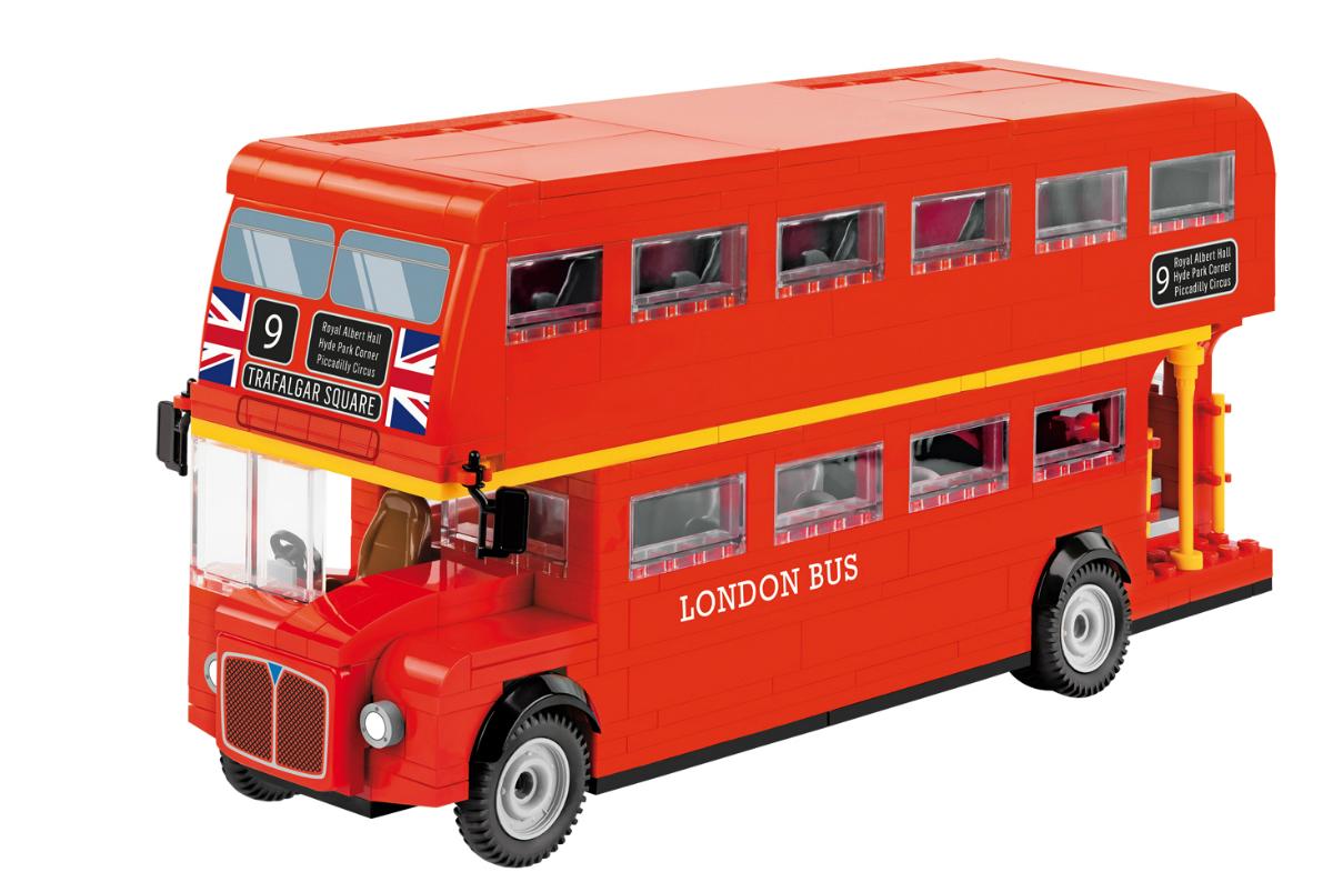 Конструктор COBI Лондонский двухэтажный экскурсионный автобус