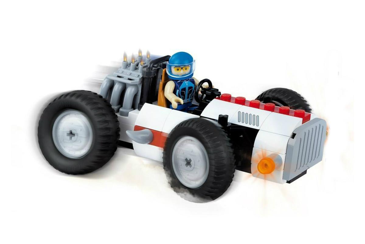 Фото - Конструктор COBI Автомобиль Vintage Racing Circuit конструктор cobi снос здания demolition site